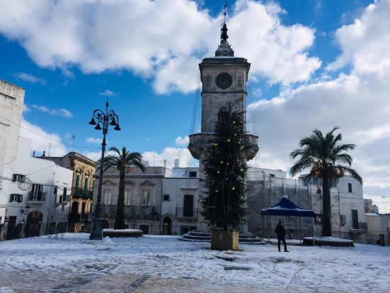 ceglia-messapica-winter-snowfall-2019
